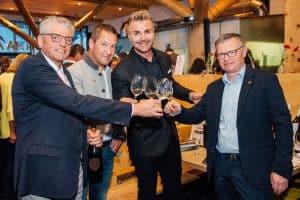 Österreichs höchste Weinverkostung feierte Jubiläum