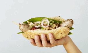 Wattwurst statt Mettwurst: Dänemark erfindet Wattwurm Hotdog