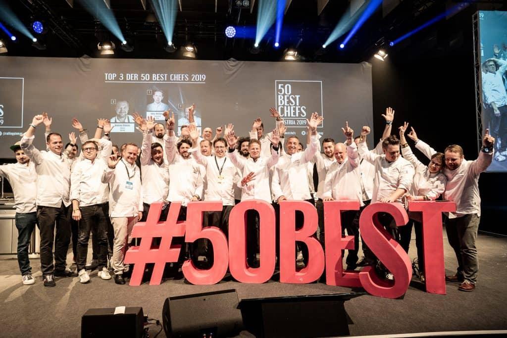 AUSTRIA'S 50 BEST CHEFS 2019