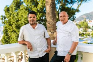 Zwei Stars, eine Adresse: Tempelhoff veredelt die Küche des Ellerman House