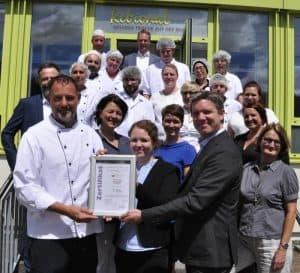 Rebional erhält ZNU-Zertifikat für nachhaltiges Wirtschaften