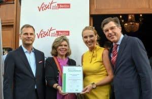 DEHOGA Umweltcheck: Floris Catering erhält Gold