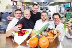 Kulinarisches Erntedankfest mit allen Dresdner Sterneköchen