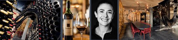 Sommelière Wayve schenkt den Gästen des Ellerman House reinen Wein ein