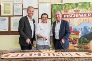 170 Jahre Pischinger - eine einzigartige Erfolgsgeschichte Präsentation der weltgrößten Pischinger-Torte