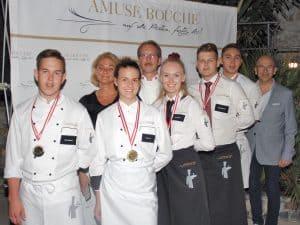 Staatsköche und Top-Lehrlinge in der Amuse Bouche-Villa