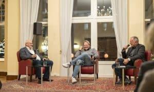 """Fernsehkoch Björn Freitag begeisterte mehr als 100 Zuschauer beim """"Talk"""" in der Concordia"""