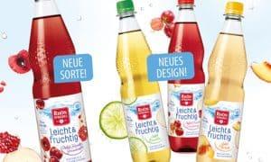 RhönSprudel: Leicht & fruchtig mit neuer Sorte und in frischem Design