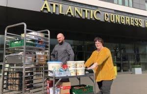 ATLANTIC Congress Hotel Essen spendet Lebensmittel