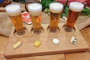 Bierkulturhotel Schwanen, Ehingen - Bier-Tasting mit edler Schokolade und Käsespezialitäten