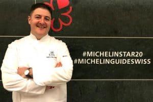 Cédric Bourassin, Chefkoch im EHL-Ausbildungsrestaurant «Le Bercecau des Sens» hat erneut einen Michelin-Stern erhalten.
