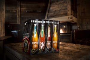 Alle Gewinner-Biere des Meininger's Beer Award in einer Box verfügbar