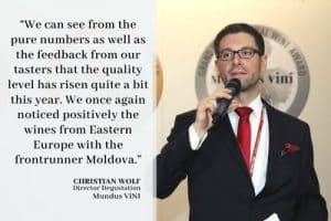 Moldawien macht seine Weine zu Gold und wird zum meistdekorierten osteuropäischen Land beim internationalen Weinpreis Mundus Vini