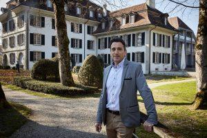 Hotelier Bruno Carizzoni