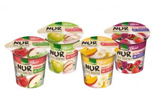 """Was für ein Früchtchen: EDEKA sorgt mit Bio-Fruchtjoghurt """"NUR"""" für pures Geschmackserlebnis"""
