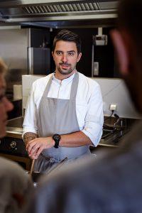Küchenchef Roland Lamprecht