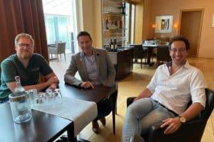 Eröffnung, Restaurantbetrieb Traubenwirt Villa Waldesruh Fronleichnam