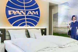 Themenzimmer für Urlaub im Kopf: Reise im V8 Hotel