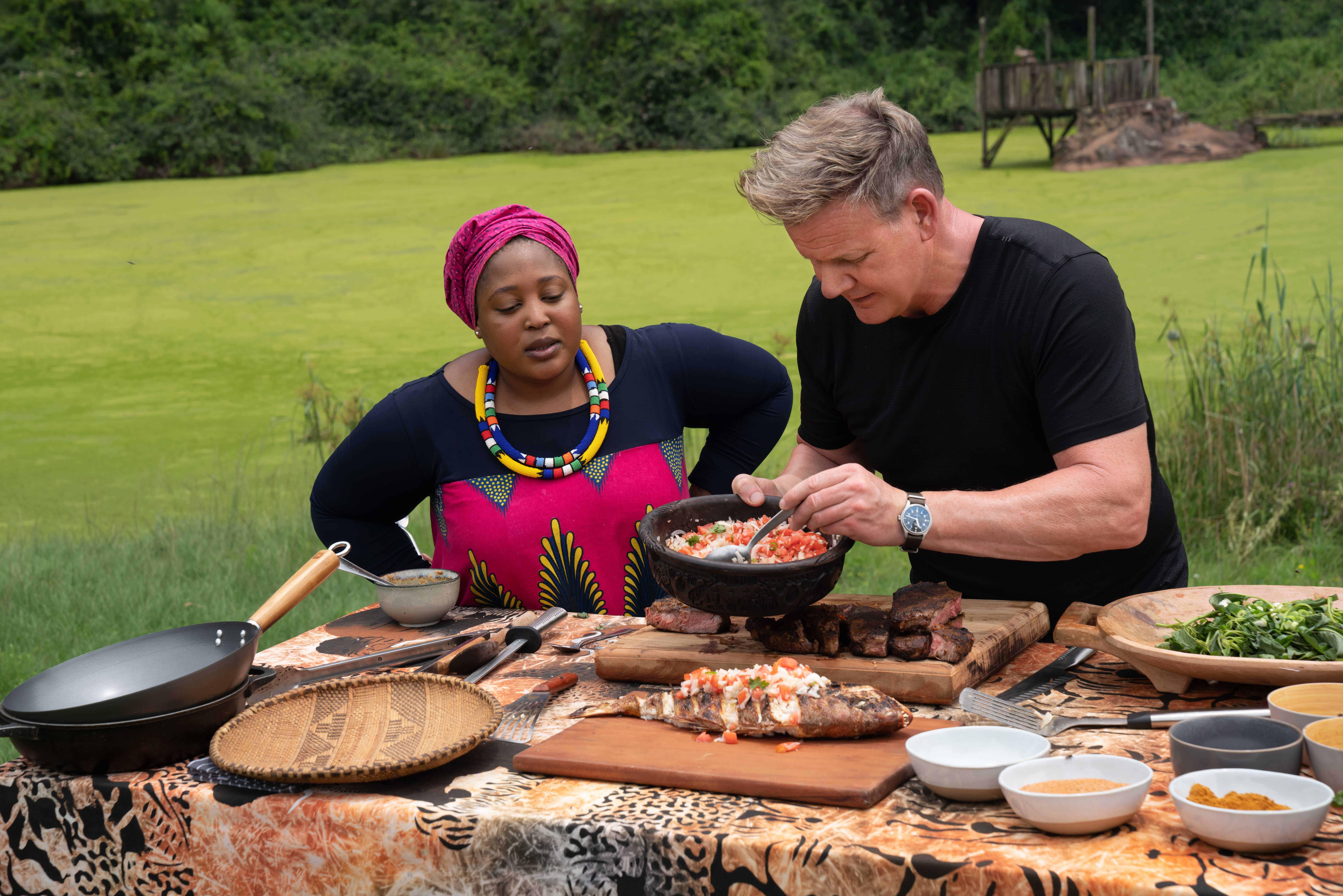 """National Geographic präsentiert die zweite Staffel von """"Gordon Ramsay: Kulinarische Abenteuer"""""""