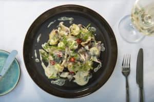 Calamari Salat im Harbour