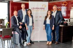 Erweiterung der Führungsriege bei Lehmanns Gastronomie GmbH