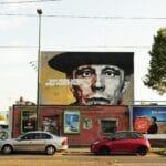 Joseph Beuys, Bild, Graffiti, Flingern, Kiefernstraße