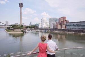 Tourismus in Düsseldorf wieder gestartet: ausgewählte Touren