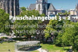Neue Kampagne soll ab sofort Touristen nach Aachen locken