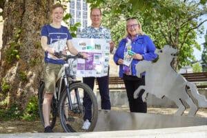 Friedensroute: Neue Karte macht Lust auf Radtour mit Geschichte